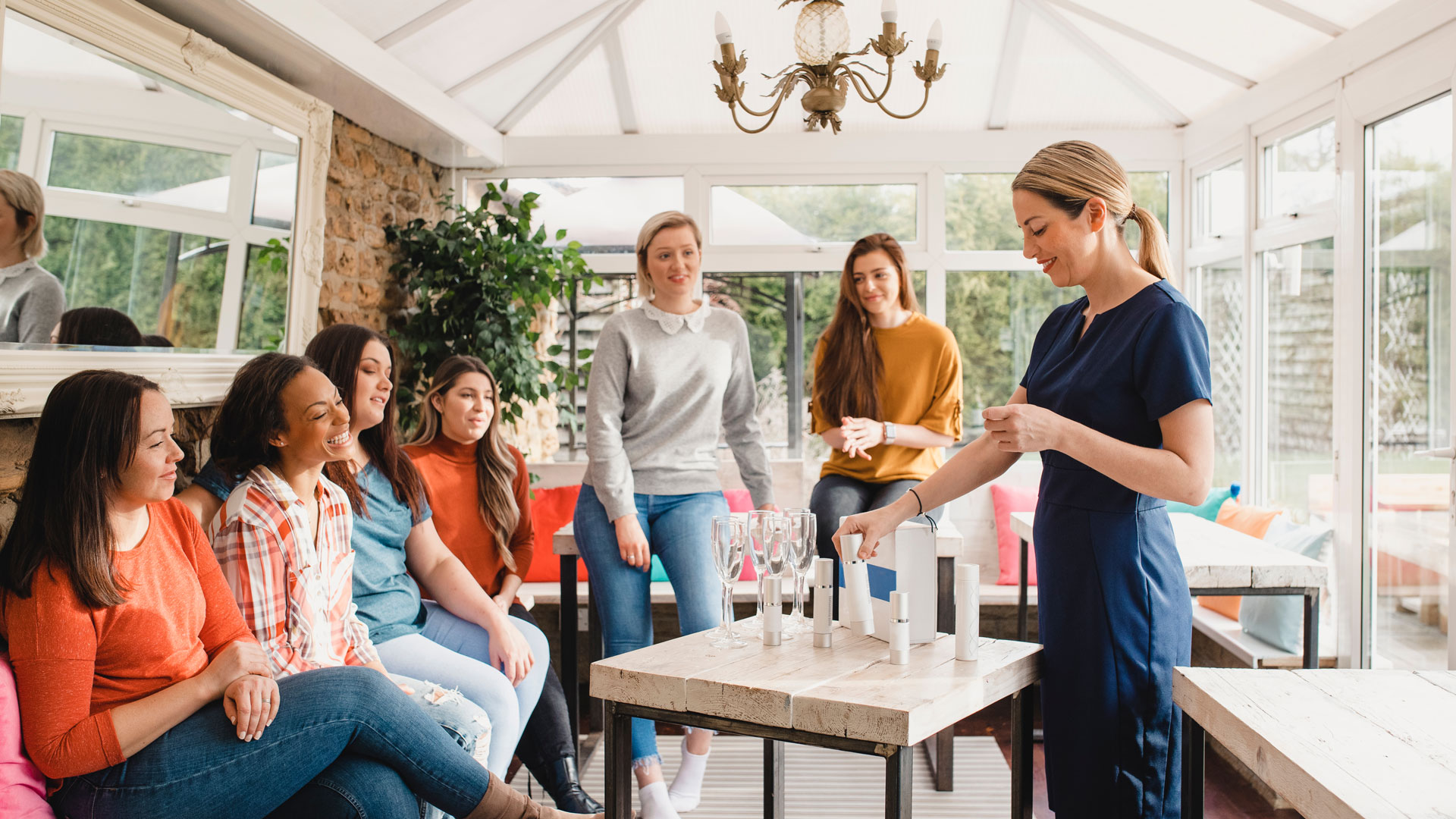 10 Tips for Planning the Perfect At-Home Skin Care Shopping Party